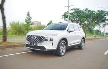 Hyundai Santa Fe Bensin, Gak Takut Lawan Toyota Fortuner SRZ