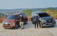 Adu Fitur Mitsubishi Xpander Cross vs Toyota Rush, Mana Lebih Unggul?