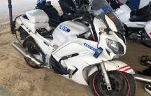 Tahun Muda Yamaha FJR 1300 Moge Patwal Polisi Sudah Dilelang, Spek Mewah Limit Cuma Rp 24 Juta, Berani Ngebid?