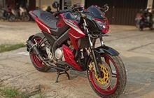 Cocok Buat Anak SMA, Yamaha V-Ixion Dimodif Makin Kece, Kaki Lebih Berisi Bodi Repaint Total