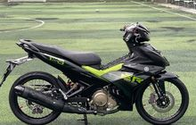 Modifikasi Yamaha MX King 150, Pakai Pelek Jari-jari Malah Makin Oke