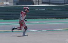 Jatuh di CEV Moto3 Aragon 2021, Begini Penjelasan Mario Aji