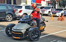 Korlantas Polri Lakukan Pengujian Spesifikasi Ukuran untuk Uji SIM Khusus Motor Roda Tiga