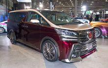 Toyota Vellfire Tampil Stylish, Bodi Dual Tone dan Pakai Pelek Multi Palang