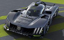 Peugeot 9X8 Siap Turun Le Mans Hypercar Tanpa Sayap Belakang