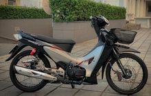 Kerabat Honda Karisma Jadi Menawan, Kaki Full Upgrade, Speedometernya Digital