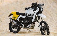 Yamaha Tenere 700 Gaya Retro Rally, Tampang Lawas Tapi Performa Modern