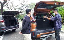 Test Akomodasi Penumpang dan Barang Kabin Mitsubishi Xpander Cross Vs Toyota Rush