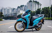 Honda SH150i Makin Menawan,  Bodinya Elegan, Kaki-kaki Full Upgrade