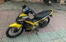 Modifikasi Yamaha Jupiter MX 135, Kaki-kaki Istimewa, Mesin Didongkrak Performanya