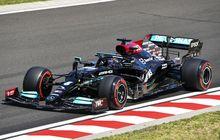 Hasil FP3 F1 Hongaria 2021 - Kalahkan Max Verstappen, Lewis Hamilton Jadi yang Tercepat