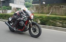Pakai Mesin V-Twin 750 cc, Berapa Konsumsi Bensin Moto Guzzi V7 III Racer 10Th Anniversary?