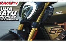 Cuma Satu di Indonesia! Ini Dia Moge Kolaborasi Ducati dan Lamborghini, Tonton Videonya