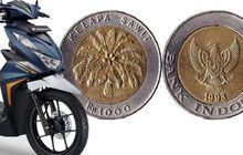 Ramai Uang Koin Rp 1.000 Bisa Buat Beli Dua Honda BeAT, Kolektor Uang Klasik dan Bank Indonesia Kasih Komentar