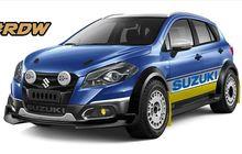 Suzuki SX4 S-Cross Ganteng Dibikin Konsep Rally Look, Masih Daily Use
