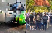 Belum Jadi Tersangka, Polisi Masih Periksa Pengendara Moge Kawasaki Yang Hantam BeAT