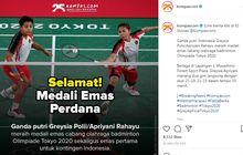 Raih Medali Emas Olimpiade 2020, Bonus Uang Ganda Putri Batminton Indonesia Bikin Kaget! Bisa Buat Beli Puluhan Xpander