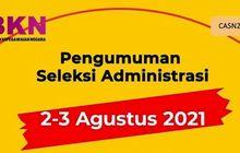 Cek Link Sekarang, Nama Kalian Lolos Seleksi Administrasi CPNS 2021
