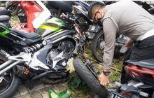 Terungkap Kecepataan SaatKawasaki ER-6n Tabrak Honda BeAT di Bintaro,Roda Sampai Terlepas, Begini Kondisinya