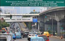 Dicatat! Jam Berlaku Ganjil-Genap di Jakarta Berubah Mulai Senin Depan