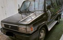 Cat Original Masih Kinyis-kinyis, Toyota Kijang Grand Extra 1996 Ditawar Rp 110 juta Belum Dilepas, Detailnya Istimewa