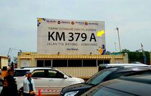 Misteri Kode A dan B di Rest Area Tol Trans Jawa Terpecahkan, Ternyata Ini Arti dan Fungsinya