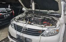 Proses Purging dan Cleaning Air Intake System di Mobil Diesel