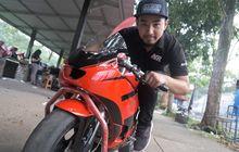 Figur - Harlan Fadhillah, Dulu Lawan Legenda Balap Road Race, Sekarang Ingin Bantu Pembalap Muda Indonesia Siap Mendunia