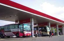 Ngeri,Mesin Bus TetapNyala Saat Isi Bahan Bakar di SPBU, Apa Alasannya, Bahaya Gak Ya?