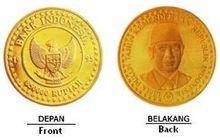 Wow! Ini Deretan Uang Dari Emas Yang Pernah Diterbitkan Bank Indonesia, Bisa Buat Beli Apa?