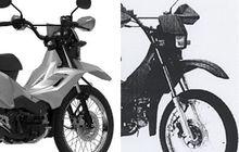 Bukan Sekali, Honda Sudah Dua Kali Daftarkan Desain Bebek Trail di Indonesia, Mau Dijual?
