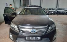 Toyota Camry 2.5 Hybrid 2014 Sitaan KPK Dilelang, Buka Harga Rp 185 Juta