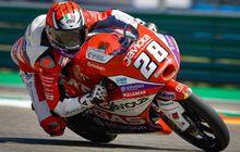 Hasil Warm Up Moto3 Aragon 2021 - Cuma Digelar 10 Menit, Izan Guevara Jadi Pembalap Tercepat, Pembalap Tim Indonesia di Urutan Segini