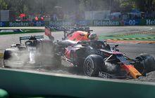 Dikritik Karena Cuekin Lewis Hamilton yang Ketiban Mobil di F1 Italia 2021, Ini Dalih Max Verstappen