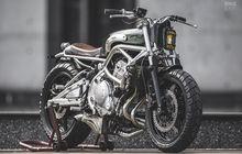 Kawasaki ER-6f Street Tracker, Tampil Klasik ala Motor Lawas Inggris