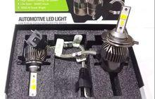 Tren Upgrade Lampu HID di Motor Bergeser Jadi Lampu LED, Ini Sebabnya