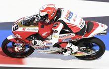 Hasil Kualifikasi Moto3 San Marino 2021 - Andi Gilang Telat Panas, Pembalap Italia Kuasai Baris Terdepan