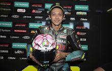 Akhirnya Valentino Rossi Pamer Helm Spesial MotoGP San Marino 2021, Temanya Girly Banget