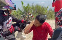 Serem, Ini Video Plt Bupati Bandung Barat Hengky Kurniawan Kecelakaan saat Terabas Naik Honda CRF150L