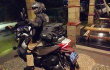 Tunggangi Honda Forza, Eks Menteri Agama Lukman Hakim Bejek Gas Turing Jakarta-Aceh