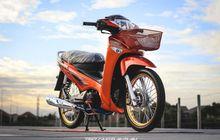 Modifikasi Simpel Honda Supra X 125, Partnya Mewah, Tampilan Istimewa