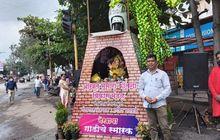 Kesal Ditilang Padahal Tidak Melanggar, Pria India Ini Taruh Suzuki Access 125 Miliknya di Sebagai Monumen