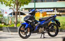 Yamaha MX King 150 Tampil Keren, Pasang Pelek Palang Tiga Biar Apik