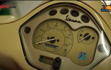 Istimewa! Vespa Ini Odometernya Belum Sampai Sedigit, Setahun Cuma Jalan 75 Meter!
