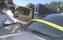 Truk Muat Garam Gagal Dirampas Bandit, Suzuki Ertiga Sewaan Ditelantarkan Saat Disergap