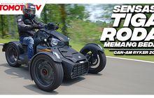 Sensasi Aneh Naik Motor Batman, Beloknya Mirip Mobil Pakai Setang, Tonton Videonya