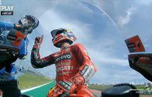 Jack Miller Ngamuk ke Manuver Joan Mir di MotoGP Amerika 2021, COTA Hampir Jadi RingTinju