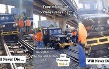 Heboh Daihatsu Taft Bisa Jalan di Rel Kereta Api, Ternyata Begini Caranya