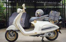 Bukan Untuk Kaum Mendang-mending, Vespa 946 Christian Dior Tanpa Aksesori Dijual Rp 1,5 Miliar