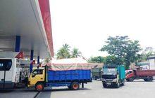 Kelangkaan Solar Terasa di Magelang, Puluhan Kendaraan Antre di SPBU, Sopir Truk Mulai Mengeluh